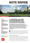887 - Avril 2021 - La transition, un levier de développement pour les quartiers populaires