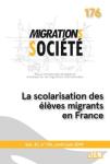 176 31.0 - 06/2019 - La scolarisation des élèves migrants en France
