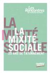 La mixité sociale. 25 ans de tâtonnement