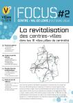 La revitalisation des centres-villes dans 16 pôle de centralité (FOCUS Centre Val de Loire)