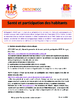"""Santé et participation des habitants : Bibliographie """" Participation des habitants et santé"""" - application/pdf"""