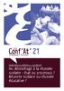 Du décrochage à la réussite scolaire : état ou processus ? Réussite scolaire ou réussite éducative ? Avec l'intervention de Patrick Rayou : Conf'At, R&T, Avril 2017, n°21, 60 p. - application/pdf
