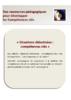 Catalogue des situations didactisées  - URL