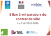 Bilan à mi-parcours du Contrat de ville Le Teil 2015-2020 - application/pdf
