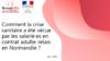 Enquête « Comment la crise sanitaire a été vécue par les salarié·es en contrat adulte-relais en Normandie ? » - application/pdf