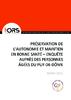 Préservation de l'autonomie et maintien en bonne santé. Enquête auprès des personnes âgées du Puy-de-Dôme - application/pdf
